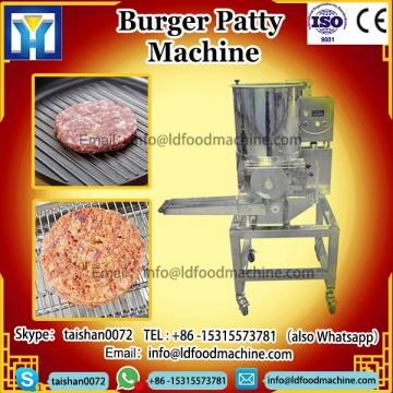 Small Scale Automatic Hamburger Meat Forming and Coating make machinery
