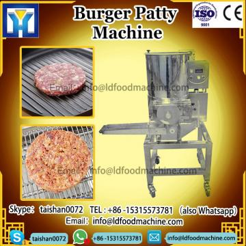 automatic potato vegan meat hamburger press machinery electric