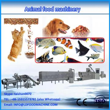 China cheap extruded animal poultry feed pellet make machinery production line