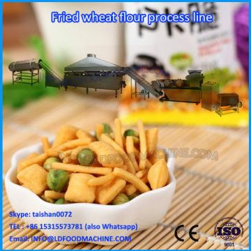 Industry Fried Wheat Flour Snack make machinery/Fried Rice Crust Snack Extrude