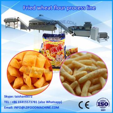 LD Professional fried extruded snack processing line fried flour snacks machinery