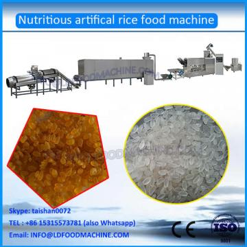 Hot Sale automatic Instant Extruded Nutrition Artificial Rice Extruder machinery process line