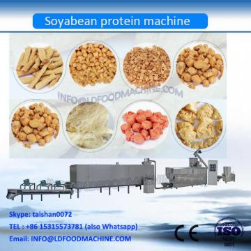 Automatic textured vegetable soy protein chuncks production line