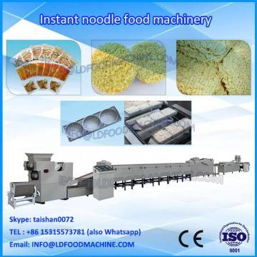 Extruded instant noodle make