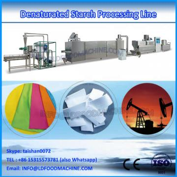 Stainless steel modified starch processing
