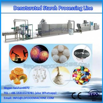 modified starch twin screw extrusion machinery for food process