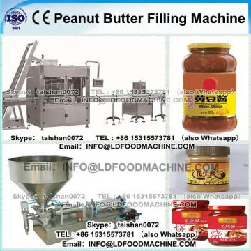 Electric Peanut Butter Filling machinery / Mustard Sauce Filling Sealing Line