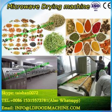 Industrial microwave drying/making machine