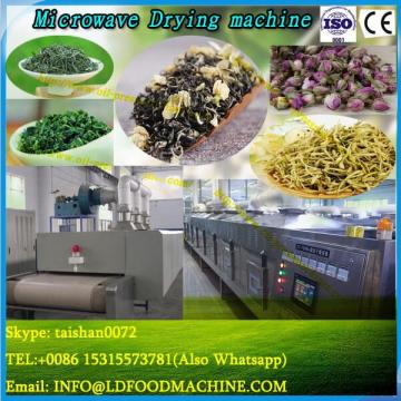 Microwave drying and sterilizering machine for mushroom