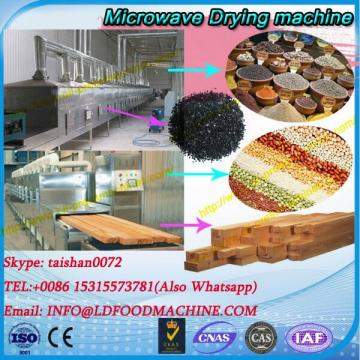 Condiment flavouring microwave drying and sterilizing machine