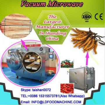 Microwave vacuum belt-type dryer for medicine, fruit , vegetable and wood