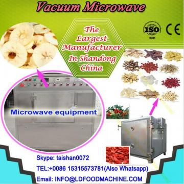 Tunnel vacuum microwave conveyor dryer machine