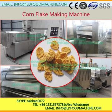 Small Capacity chocolate maize flakes extruder production line