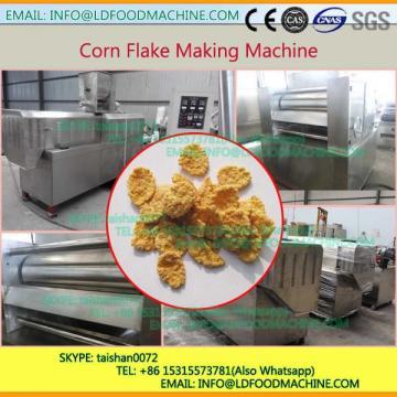 Wheat flakes make machinery