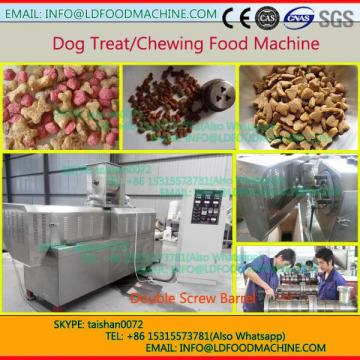 full automatic dry dog food pellet double screw extruder machinery