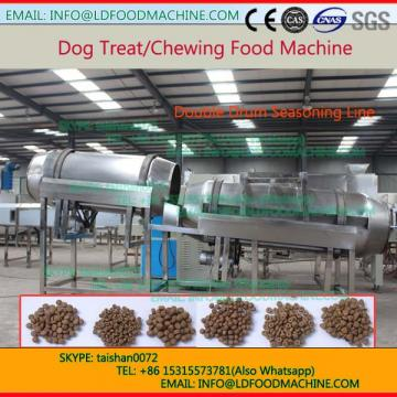 automatic twin crew extruder pet dog food machinery