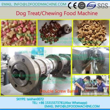 Extruded pet food pellet feed make machinery from Jinan  company