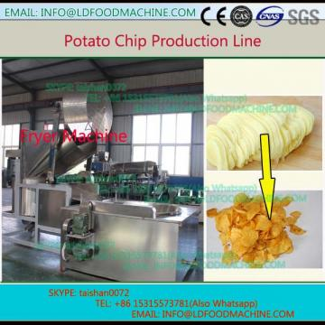 automatic frying potato chips machinery