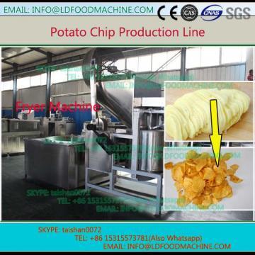 1000kg/h gas frozen potato chips production line