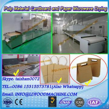 Industrial microwave conveyor oven for drying paper