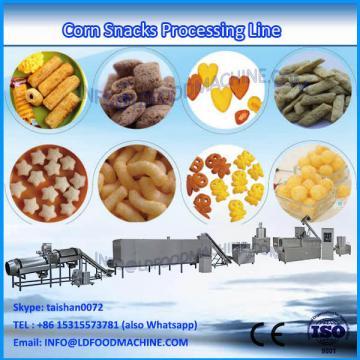 Automatic rice puffing machinery puffed corn puff snacks extruder make machinery