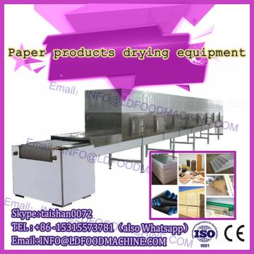 paper board Tunnel microwave drying machinery