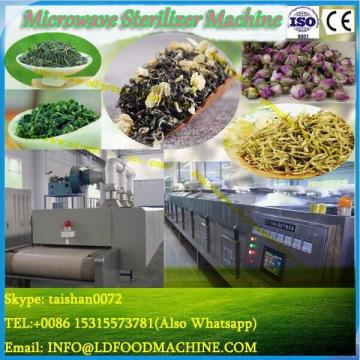Continuous microwave fryer/fryer for snack/automatic frying line