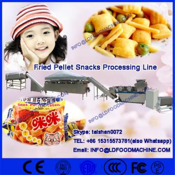 Fried Pallet Chips make ,snack pellets processing machinery,single screw extruder fried pellets