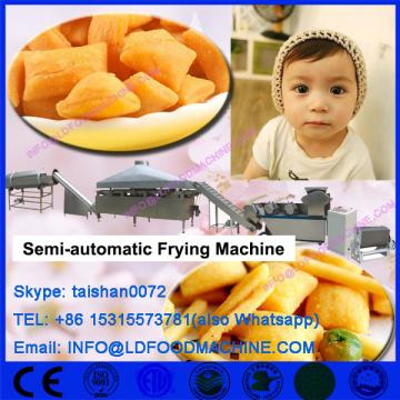 Semi-automatic batch fryer for snacks