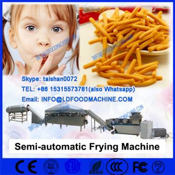 Industrial batch french fries frying machinery