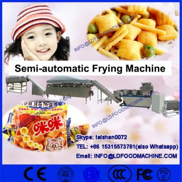 small scale sime-automatic batch industrial deep chips fryer machinery