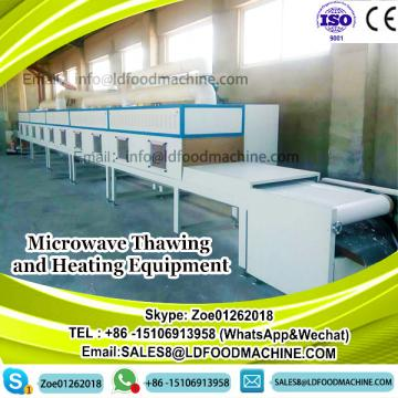 Microwave Thawing and Heating Chicken Equipment
