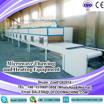 Microwave Thawing and Heating White Shrimp Equipment