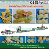 3D pellet wheat bran based pellets snacks food extrusion machinery