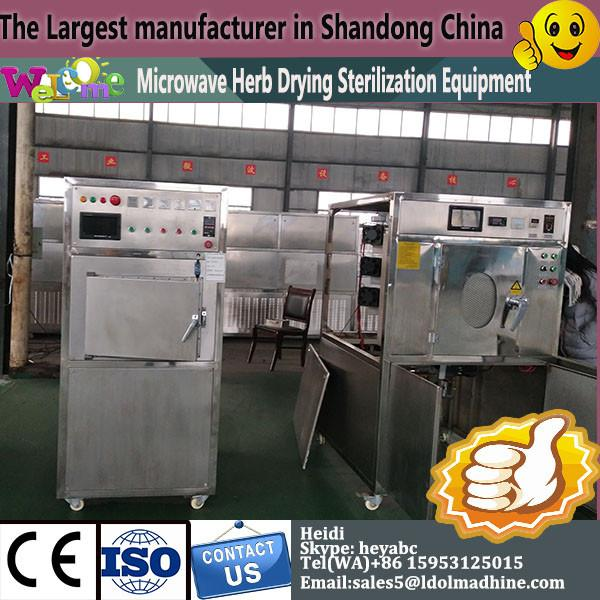 Microwave Non-fried instant noodles dry drying sterilizer machine #1 image