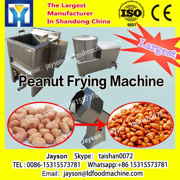 Round Pan Gas Deep Fryer with Mixer Commercial Peanut Frying machinery #1 image