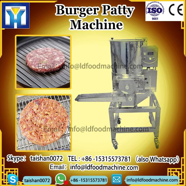 automatic different shapes burger Patty frying machinery #1 image