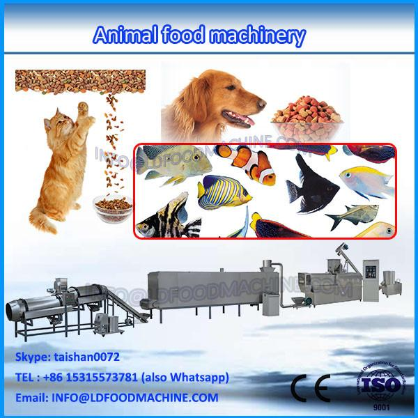 China cheap extruded animal poultry feed pellet make machinery production line #1 image