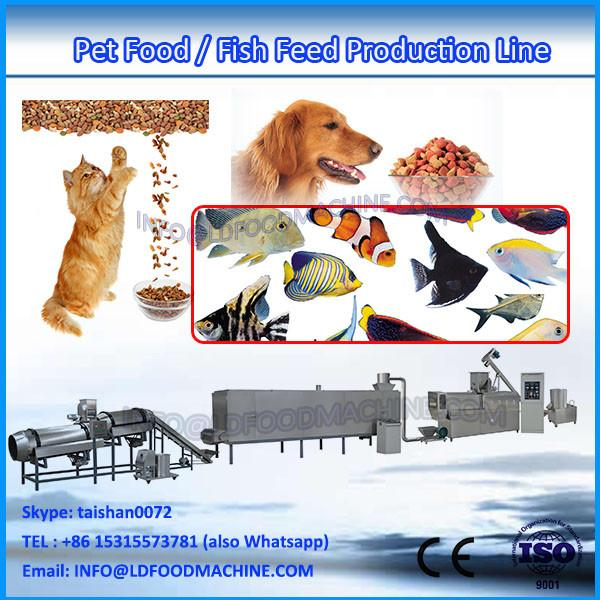 Twin screw fish feed pellet machinery extruder price #1 image