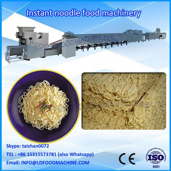 Stainless Steel Automatic Electric Round Instant Noodle machinery #1 image