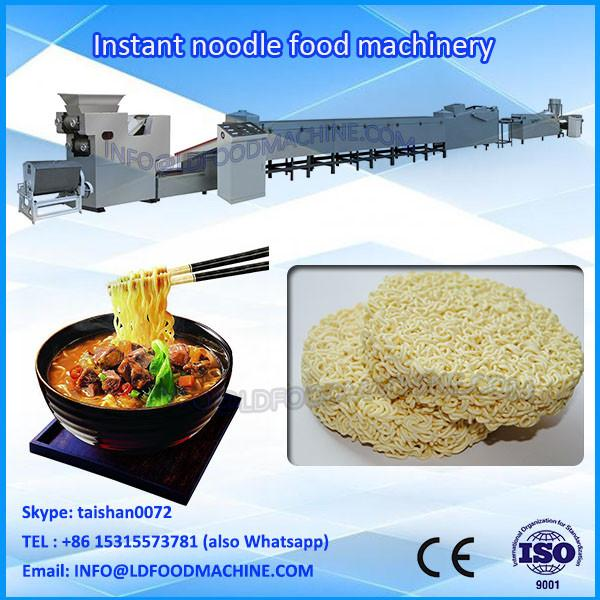 small scale fried instant noodle make machinery/production line #1 image