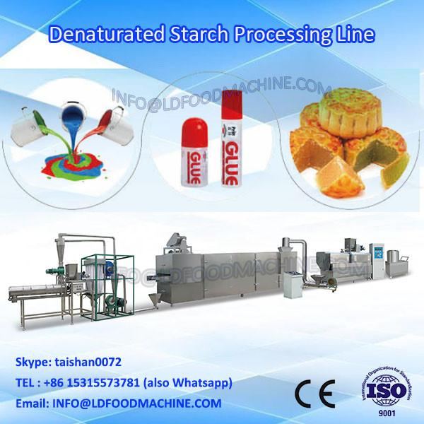 automatic modified starch twin screw extrusion machinery #1 image