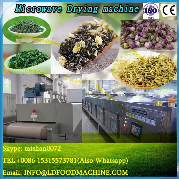 Stainless steel industrial microwave wood chip dryer with CE #1 image