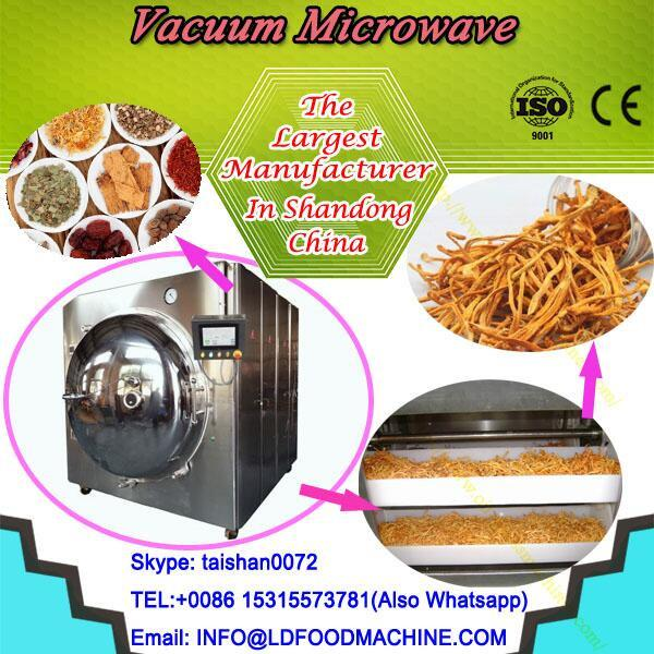professional manufacture vacuum microwave sterilizing/dryer for herbs #1 image