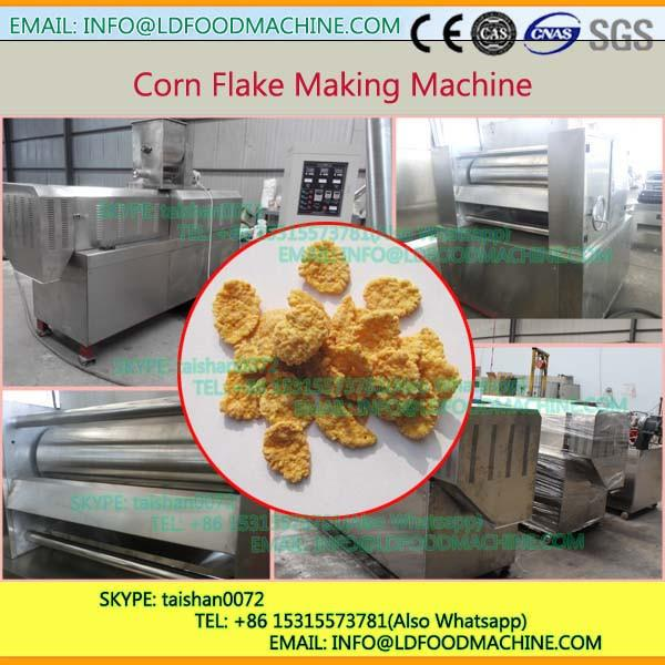 Low consumption stainless steel double screw extruder for corn flakes #1 image