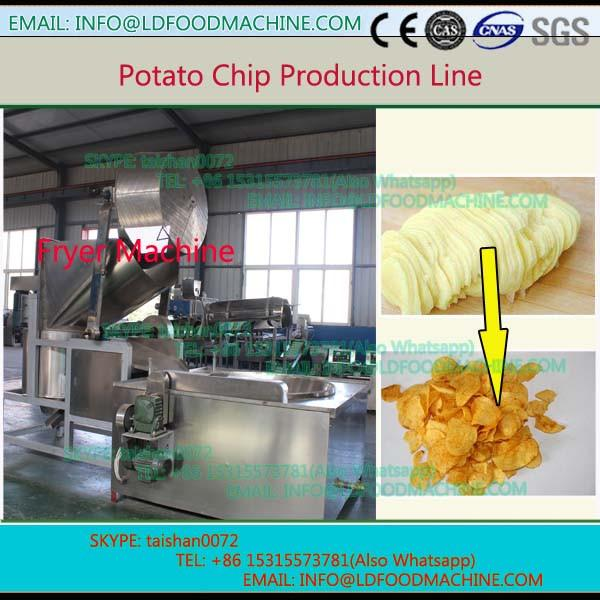 Low oil content full automatic stainless steel stable running made in china for food factory use potato chips machinery #1 image