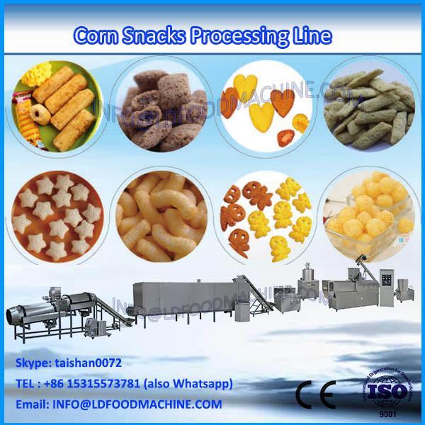 China Jinan tough automatic corn snacks food extruder machinery #1 image