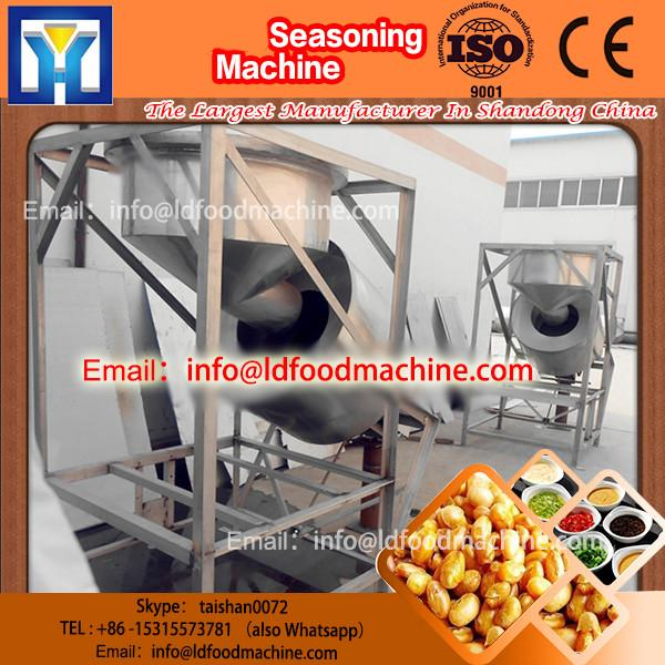 high quality low price stainless steel snacks flavor mixing machinery #1 image
