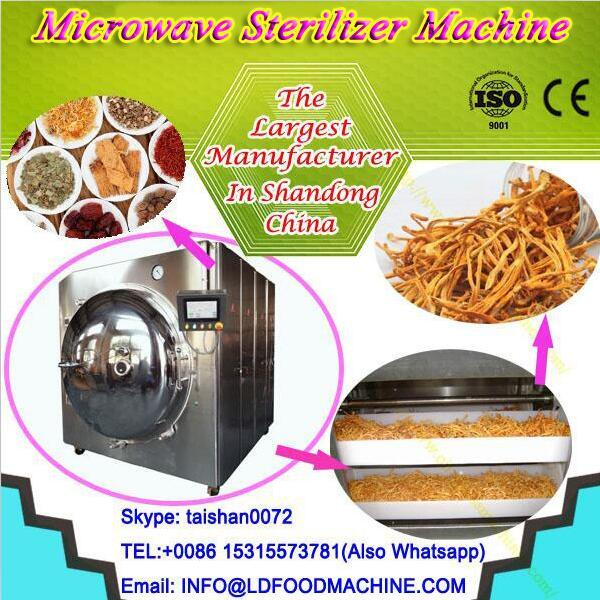 LD microwave Continuous Deep Fryer Chips Frying machinery #1 image
