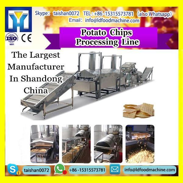 LDQ potato chips gas/diesel automatic frying equipment assembly line #1 image